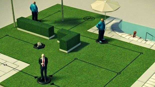 hitman go gameplay