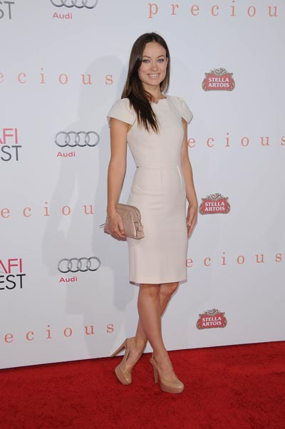 You can't tell where Olivia Wilde's legs end and her shoes begin.