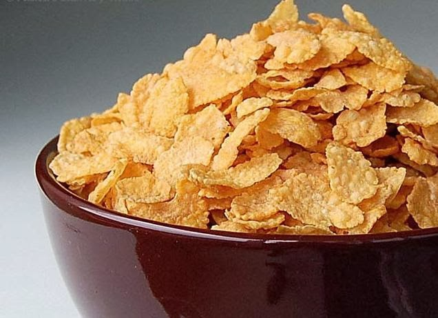 HOMEMADE CORN FLAKES