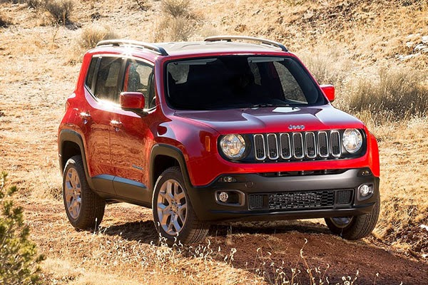 Jeep Renegade 2015 2016 fotos
