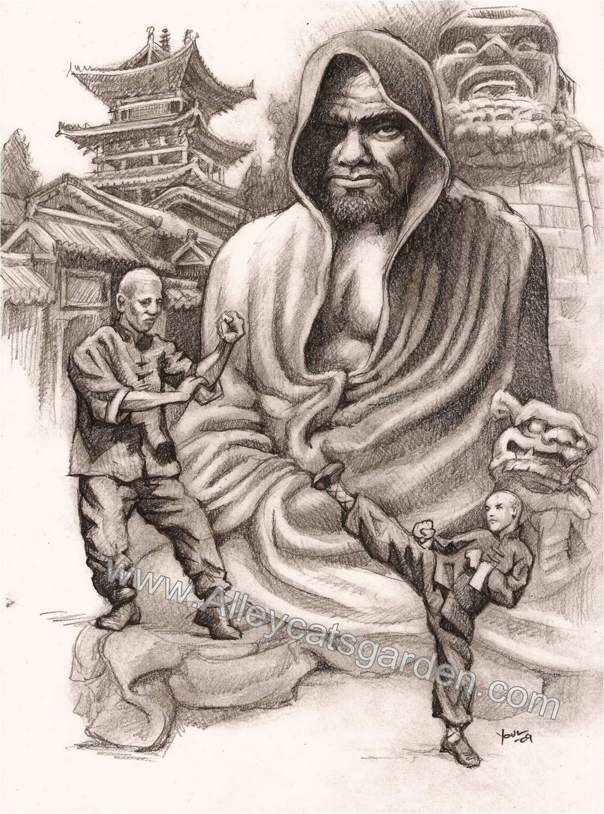 ytears bodhidharma father of asian martial arts