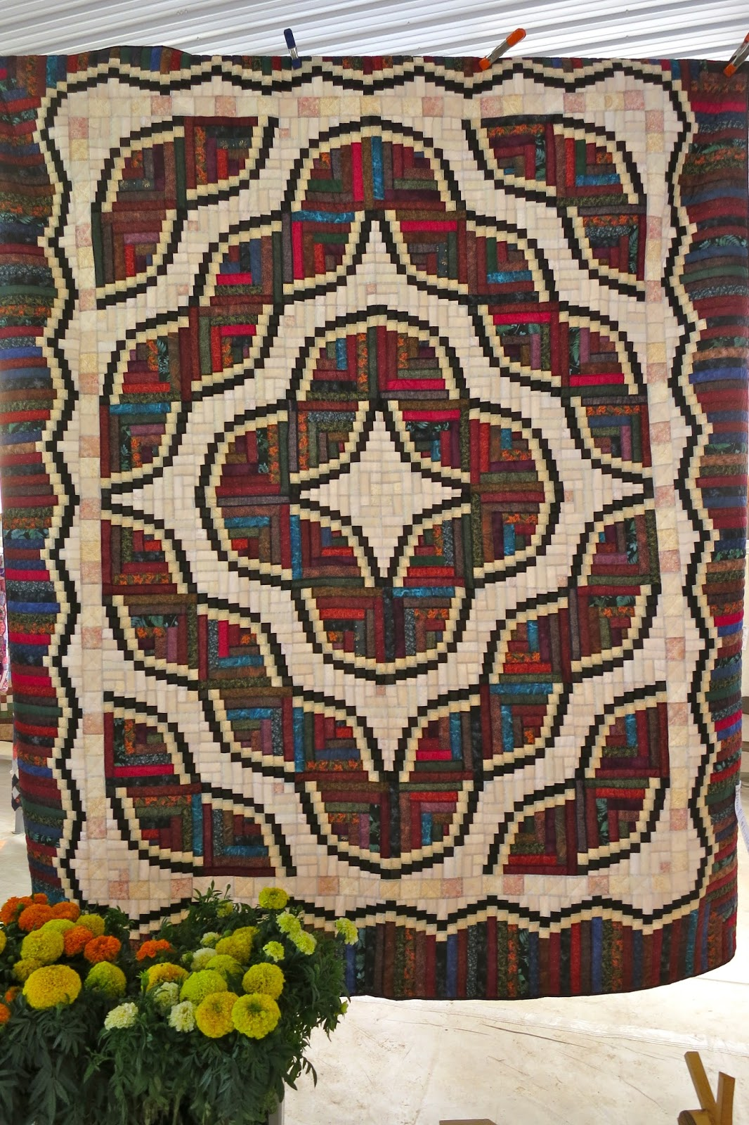 Log Cabin Quilt Pattern Tom The Backroads Traveller