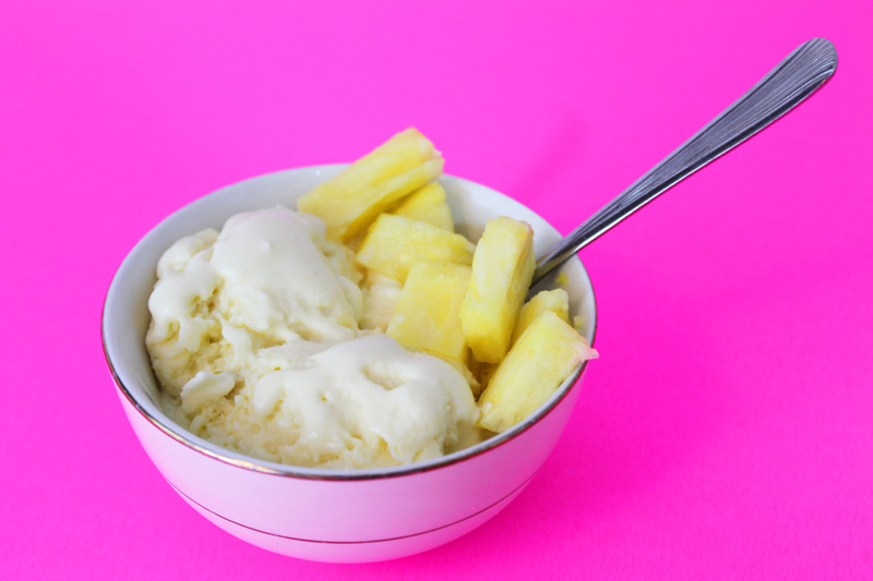 pina colada tropical ice cream