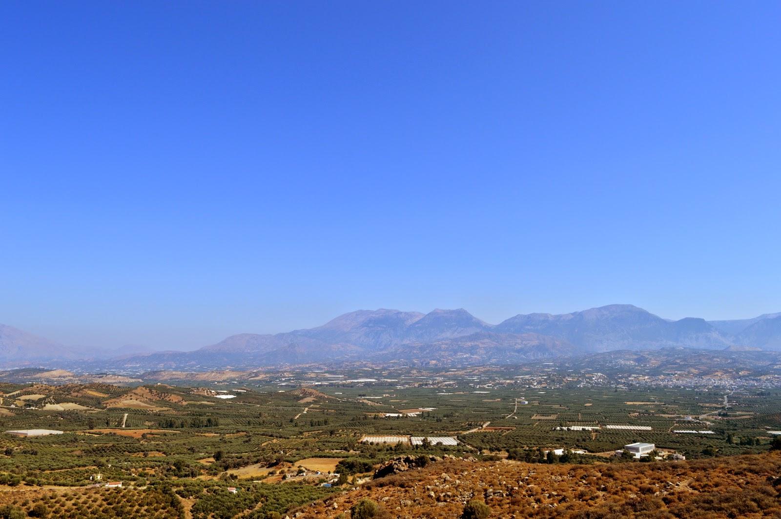 View of inner Crete.