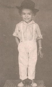 Childhood Chiranjeevi
