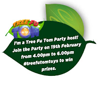 Tree fu Tom Twitter Party