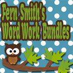 Fern Smith's Word Work Bundles