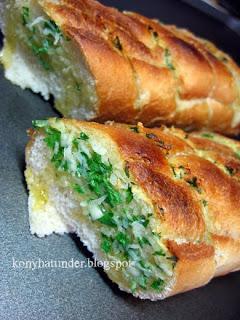 grilled-garlic-baguette