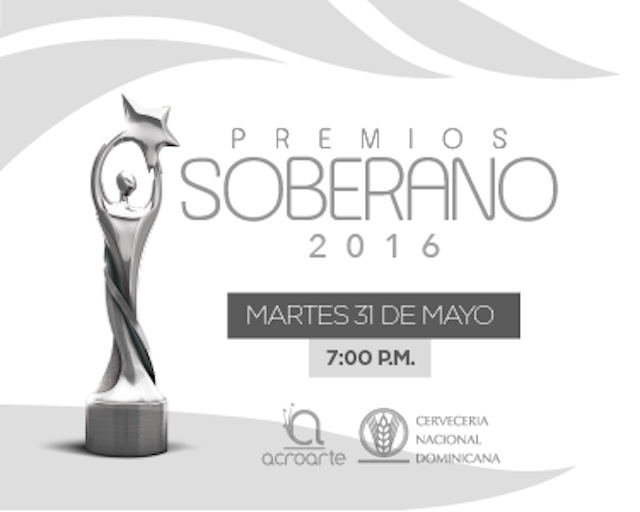 PREMIOS SOBERANO; MARTES 31 MAYO