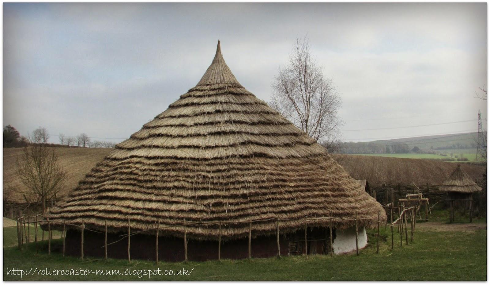 large Iron Age roundouse, Butser Ancient Farm