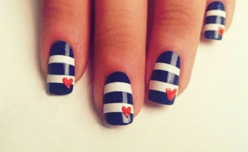Read on for more Independence Day nail art inspiration... Which red white  and blue ... - Lush Fab Glam Blogazine: Get Patriotic With Red White & Blue Nail