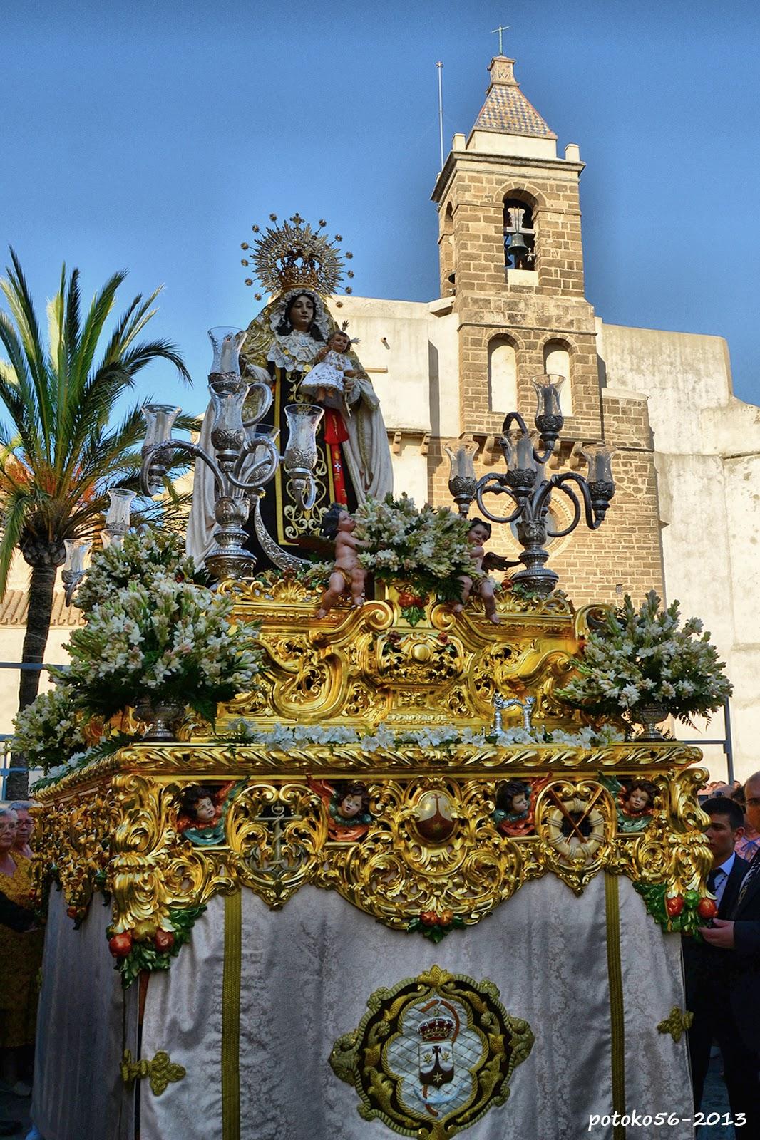 Procesión de la Virgen del Carmen Rota