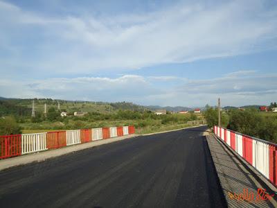 Pod asfaltat la Galautas