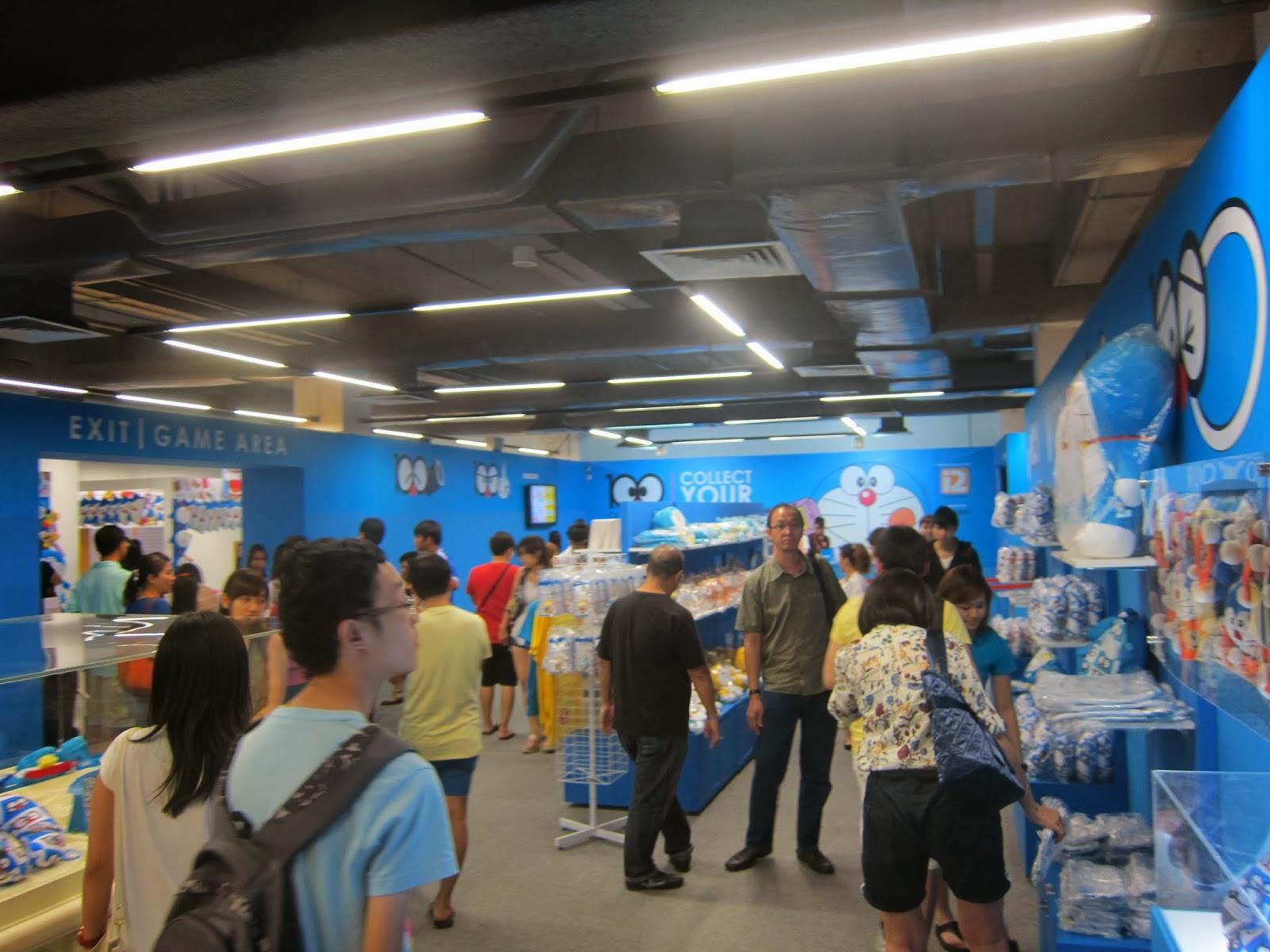 Doraemon Expo Selling Department