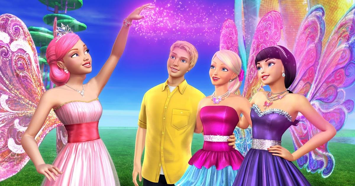 """Erika's Site: Barbie A Fairy Secret - Barbie in """" Un"""