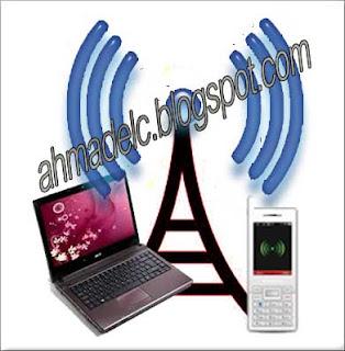 wifi pada hp dan laptop
