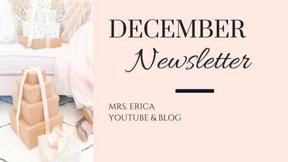 December Monthly Newsletter