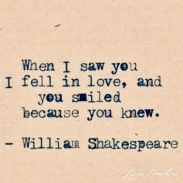 The Life Quotes: William Shakespeare Love Quotes