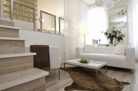 desain ruang tamu kecil minimalis sederhana - info properti