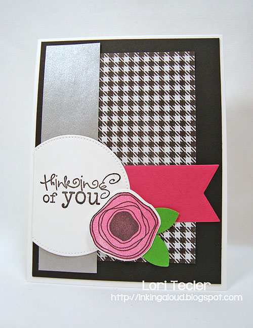 Thinking of You-designed by Lori Tecler-Inking Aloud-stamps from Verve Stamps