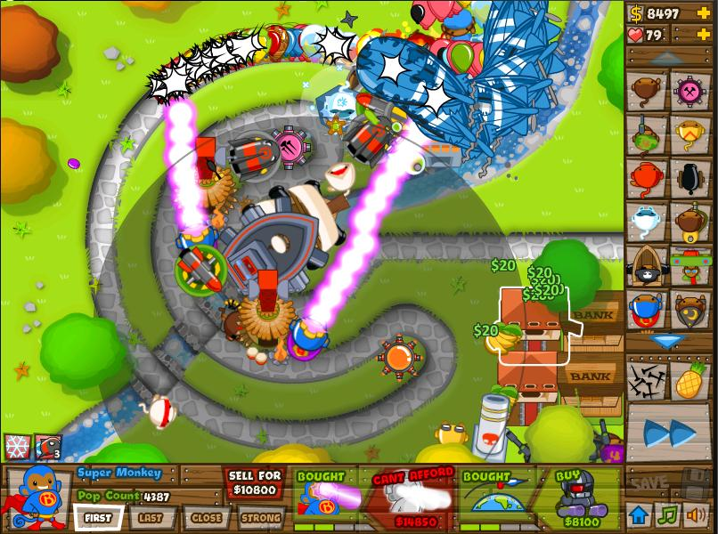 Joran at play: Bloons Tower Defense 5