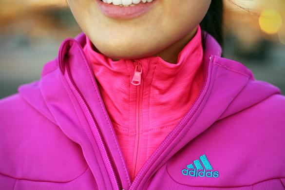 Fuchsia Adidas Climawarm layers