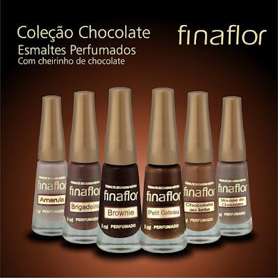 Coleção Chocolate Fina Flor Cosméticos