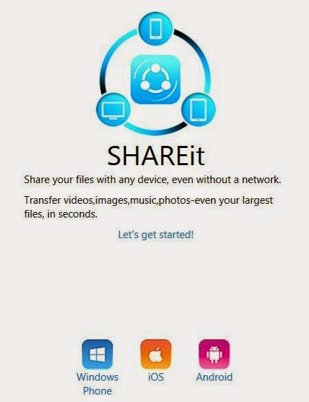Download And Install Shareit For Pc Laptop