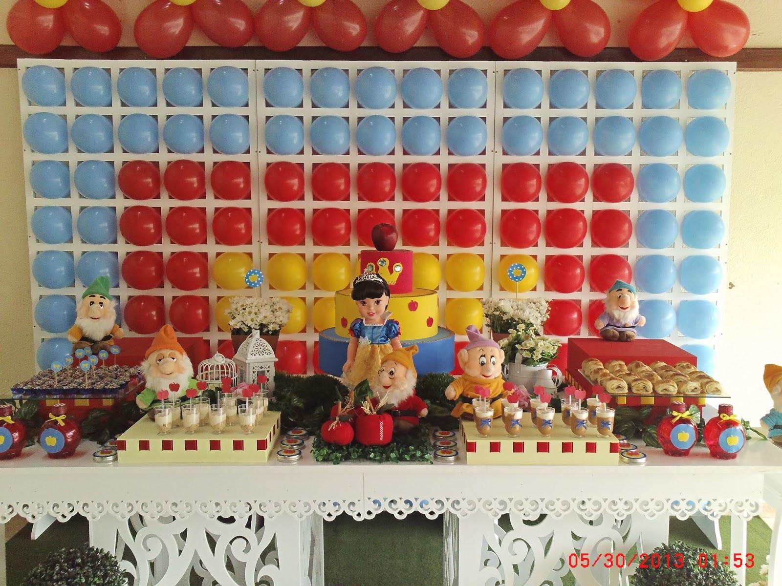 decoracao branca de neve festa infantil : decoracao branca de neve festa infantil: festa infantil – Claudia Hayasida – Londrina – PR: BRANCA DE NEVE 2