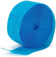 Blue Crepe Paper