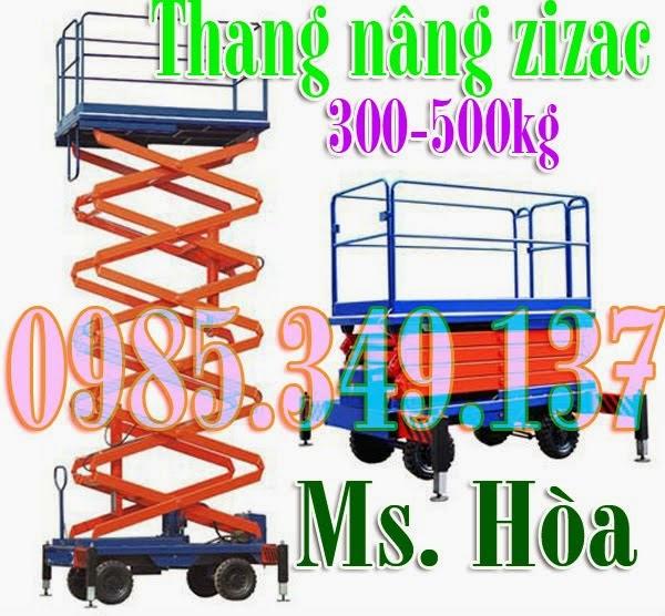 Thang nâng ziczac 300kg-14m Noveltek-Taiwan