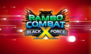 Screenshots of the Rambo combat: Black x force for Android tablet, phone.