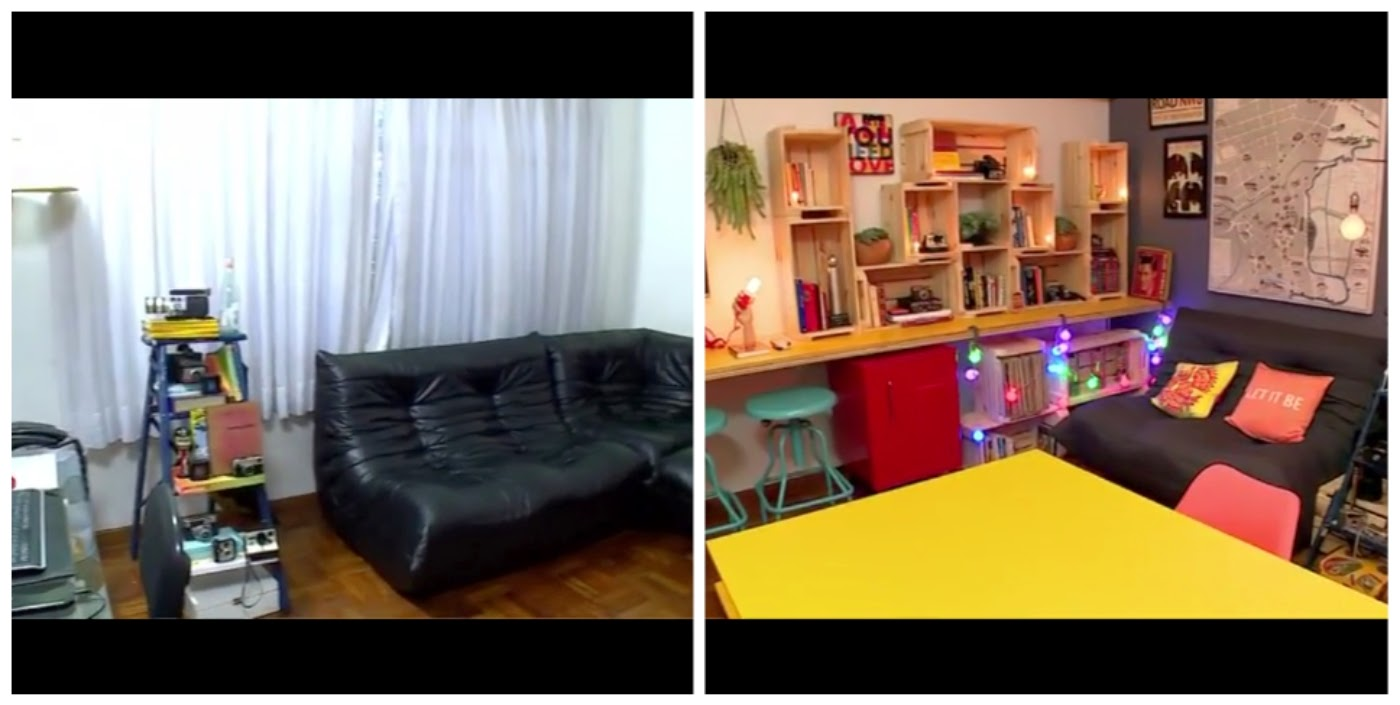 Decora Rosenbaum Episódio 2 - Home Office se transformou em um espaço moderno