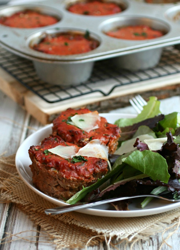 Individual Italian Style Meatloaves