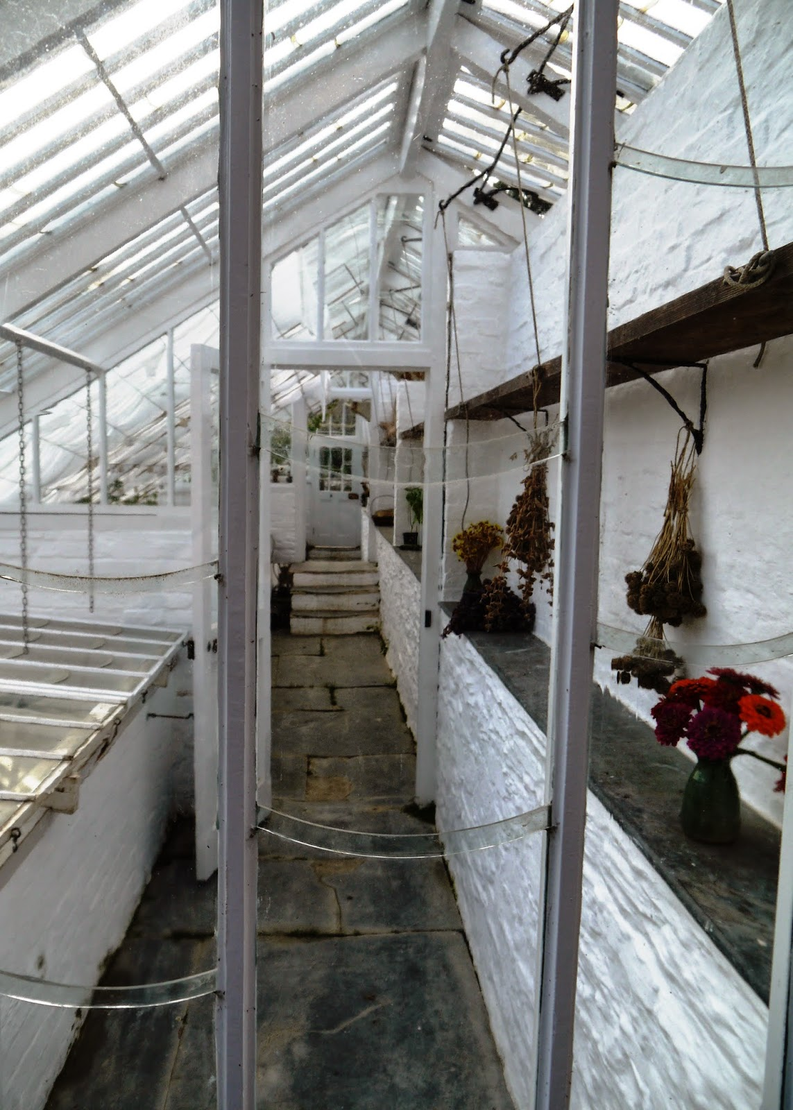 The Lost Gardens of Heligan, Cornwall - conservatories