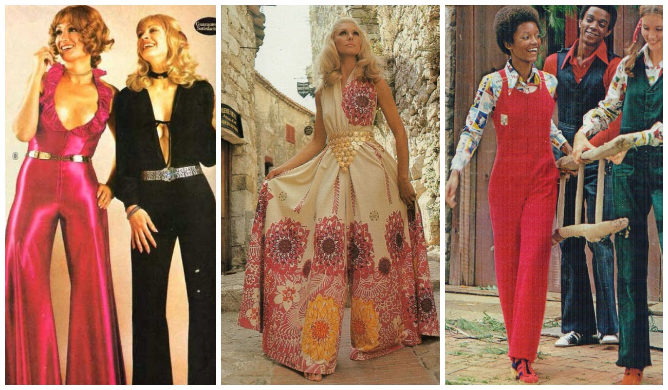 Fashion of 1970s - Flashback To The 1970s Jumpsuit Mania