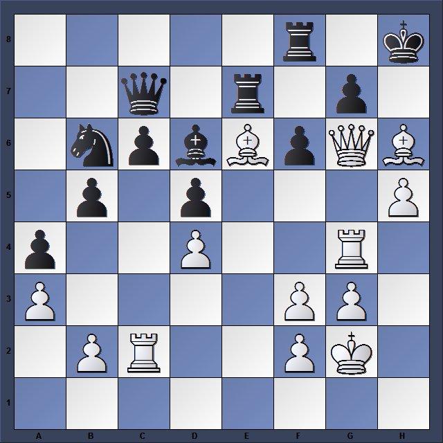 Les Blancs jouent et matent en 4 coups