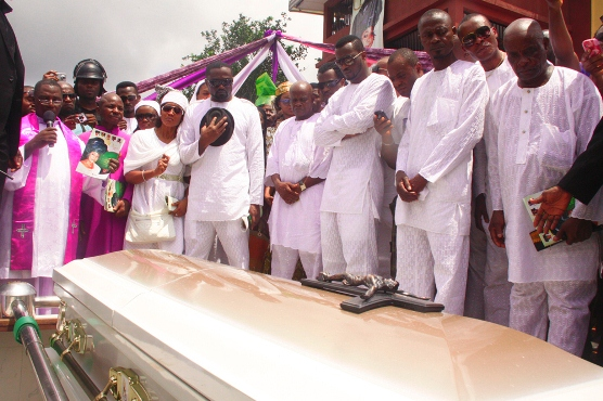 pquare mothers funeral