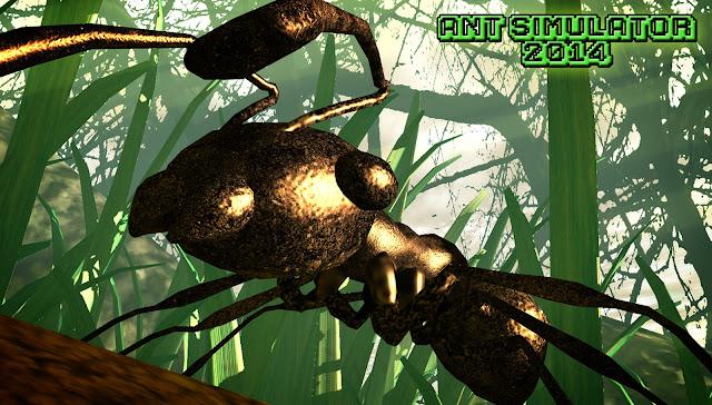 Ant Simulator pretendia simular o dia-a-dia de uma formiga