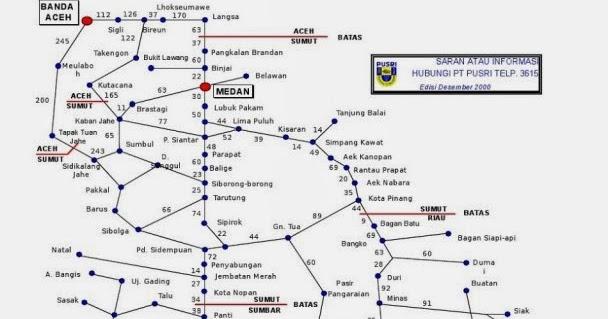 Raun-raun Medan: Peta Jarak Antar Kota Lintas Sumatera