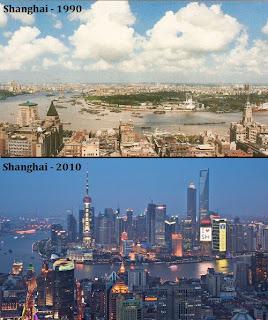 Fotos Shanghai, antes y después