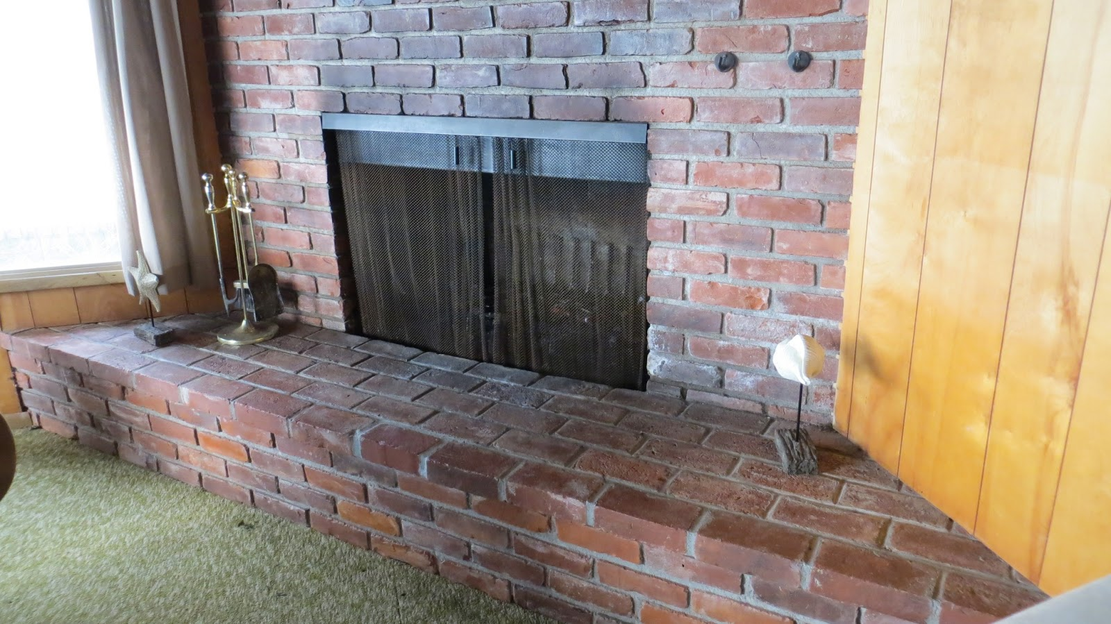 how to set up book cases on fireplace uneven sides