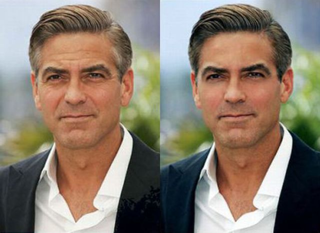 Photoshopped celebrities