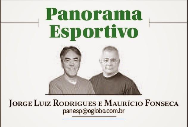 "Na coluna ""Panorama Esportivo"" do Globo"