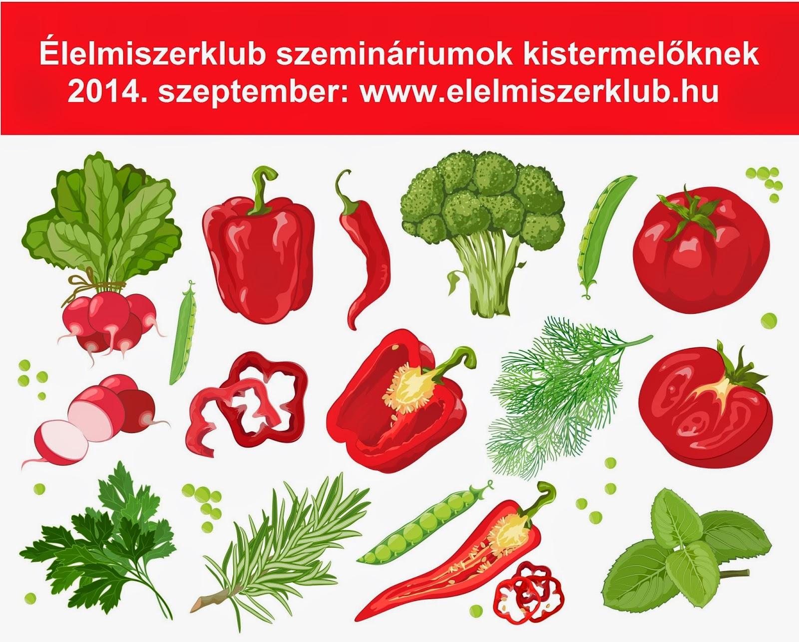 Élelmiszer-kistermelők szemináriuma 2014. szeptember
