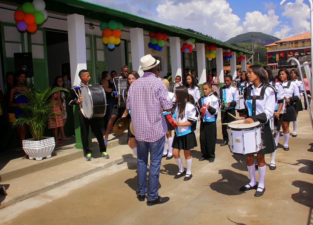 Banda Dançarte, do Cedal, faz apresentação especial na inauguração da unidade de ensino