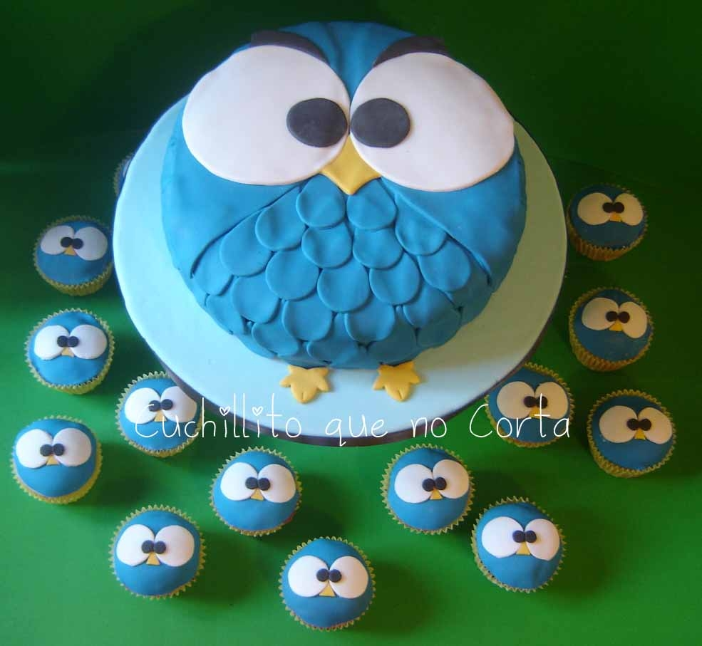 Easy Owl Cake Design : Beautiful Cup Cakes designs - Recipes to Beat a Summer ...