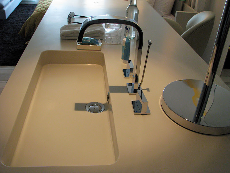 sink and countertop are not in the bathroom - they are in the center title=