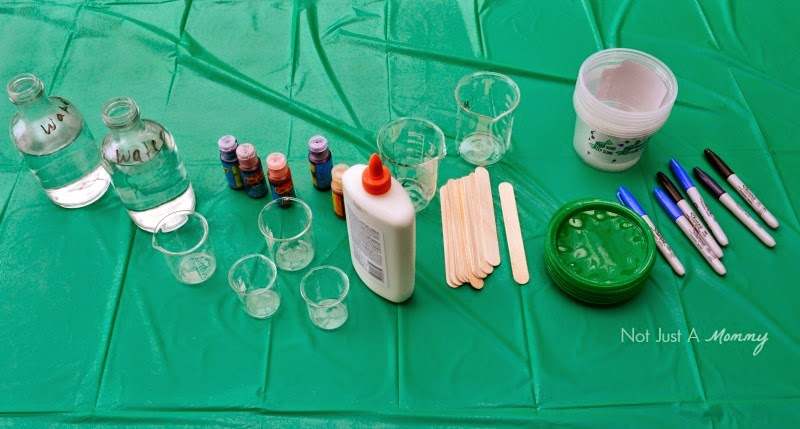 Mad Scientist's Lab slime ingredients
