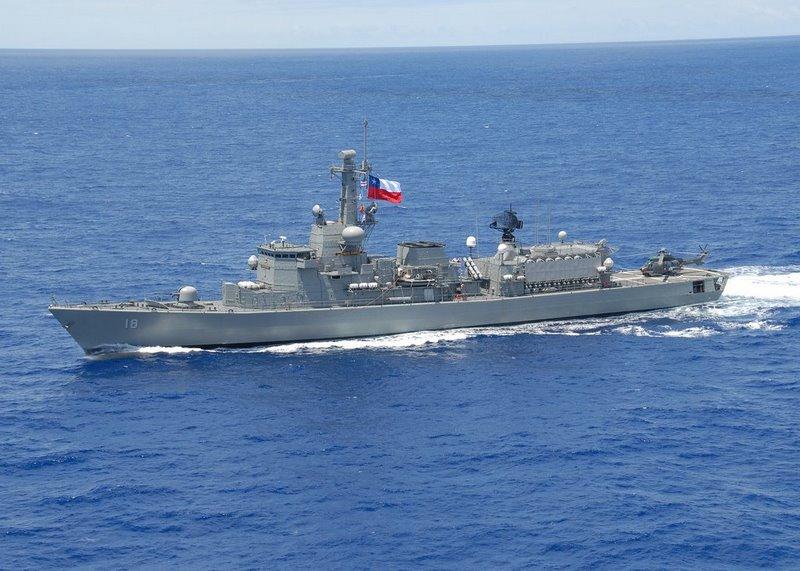 Fuerzas Armadas de Chile Almirante+Riveros+(FF-18)+004
